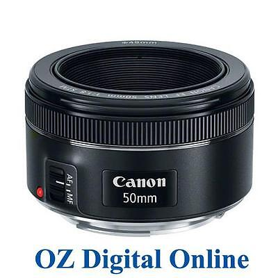 NEW Canon EF 50mm f/1.8 STM Lens F1.8 for EOS 80D 6D 5D 1 Yr Au Wty