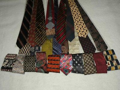 "25 Lot Mens 3.75"" Ties Polyester- SILK Designer 58"" NEW  USA SELR Wholesale TL1"
