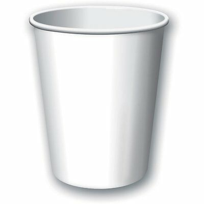 CEG Paper 9oz. Cups, White (56000B)