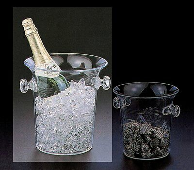 Huang Acrylic Champagne Cooler/Ice Bucket (1171)