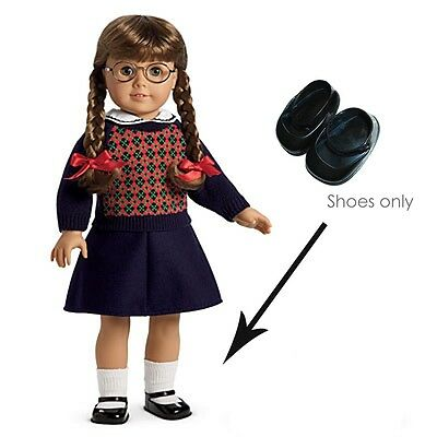 "American Girl MOLLY MEET SHOES for 18"" Dolls Retired Mary Janes 1 pc NEW in Bag"