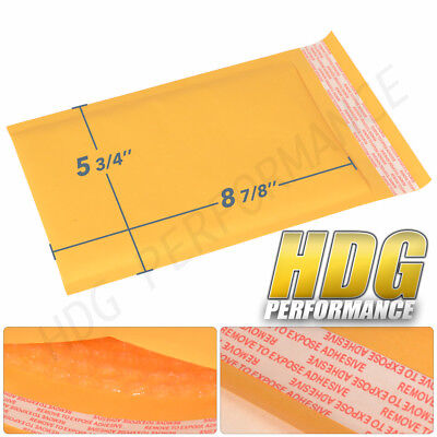 """Padded Bubble Mailer 5-3/4"""" X 8-7/8"""" Bag Shipping Supplies Seal  (250Pc)"""