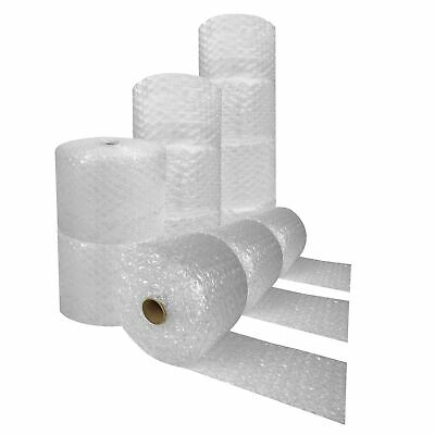 """Bubble Cushioning Wrap Roll 750 feet x 12"""" wide - Large 1/2"""" Bubbles perforated"""