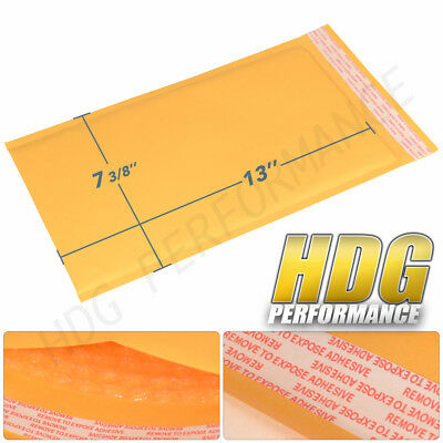 """Padded Bubble Mailer 7-3/8"""" x 13"""" Bag Shipping Supplies Seal  (100Pc)"""