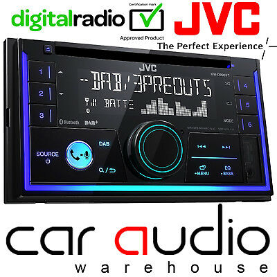 JVC KW-DB93BTE Double Din DAB Radio CD MP3 USB AUX & Bluetooth Car Stereo Player