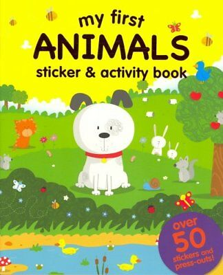 My First Jungle Sticker And Activity Book by igloobooks