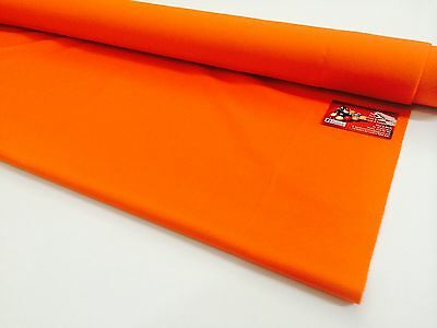 ENGLISH Hainsworth Pool Snooker Billiard Table Cloth Felt 7ft ORANGE