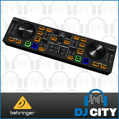 Behringer CMD Micro Compact 2 Deck DJ MIDI Controller w/ Software