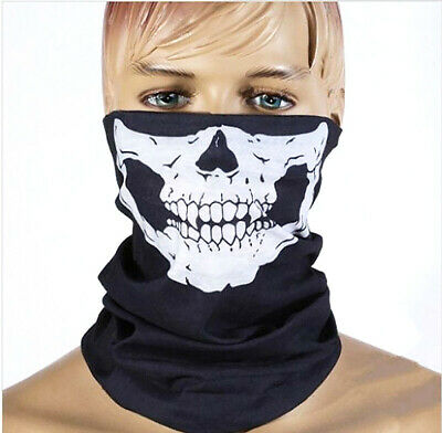 Skull Warm Scarves Mask Multi Magic Scarf Riding Halloween Mask Tactics Camp