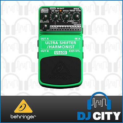 Behringer US600 Ultra Shifter/Harmonist Effects Pedal