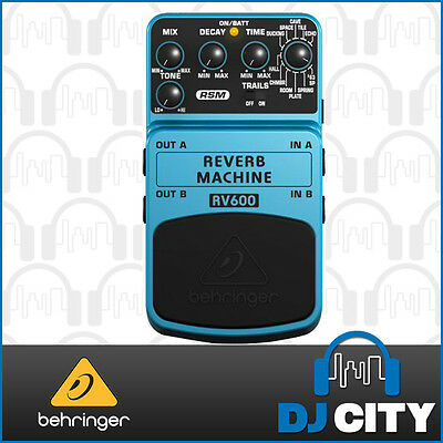 Behringer Reverb Machine RV600 Ultimate Reverb Modeling Effects Pedal