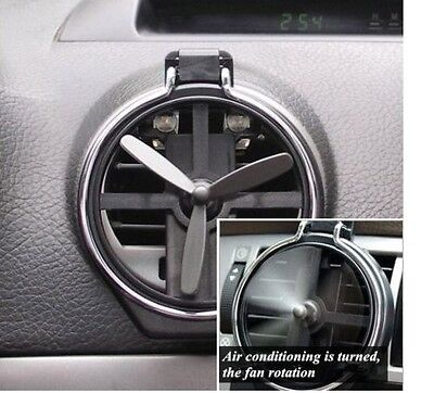 New Air-Outlet Cup Drink Bottle Mug Holder Stand Bracket with Fan For Car
