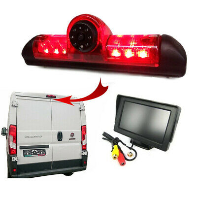 Citroen Relay Van Reversing Camera Kit With Integrated Brake Light 2006 - 2018