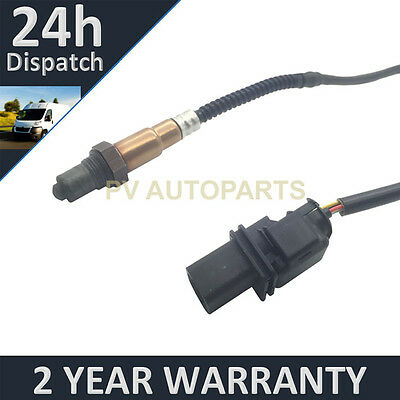 Rear 5 Wire Wideband Oxygen Lambda O2 Sensor For Volkswagen Golf 2.0 Tdi+ 04-13