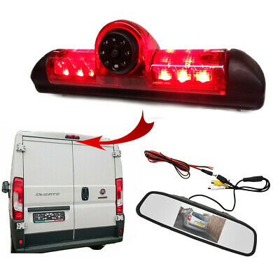 Citroen Relay Van 2006 - 2018 Reversing Camera Kit With Integrated Brake Light