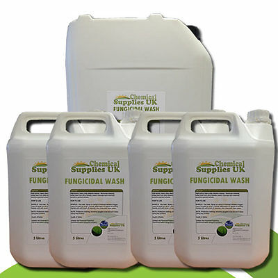 Fungicide, Removes Mould, Moss & Lichen, Leaves protective residue