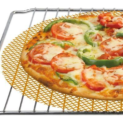 Pizza Mesh Oven Baking Tray Cooking Sheet Crispy Chips