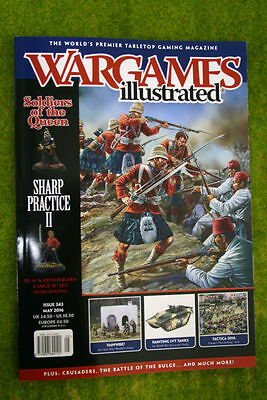 WARGAMES ILLUSTRATED ISSUE 343 May 2016 MAGAZINE