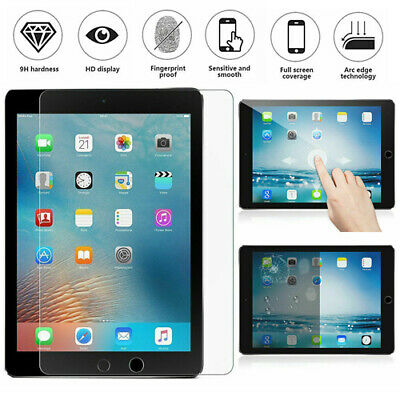 "100% Genuine Tempered Glass Protection Screen Protector For iPad Pro 9.7"" New UK"