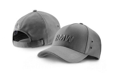 BMW Genuine Collection Emblem Pin Peaked Cap Adjustable Space Grey 80162411104