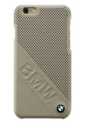 BMW Genuine Collection Hard Case Shell Logo Emblem iPhone 6 Taupe 80212413764