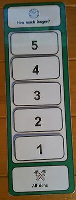 How Much Longer? Countdown Board for Autism/SEN/ADHD/Learning Difficulties