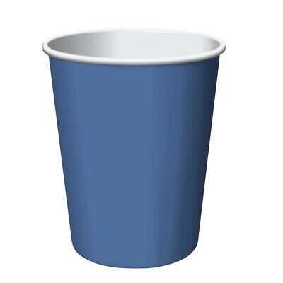 CEG Paper 9oz. Cups, True Blue (56145B)