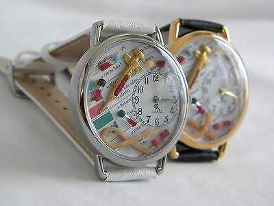 Phlebotomists Watch with Syringe Tiny Vials and Tourniquet Phlebotomy
