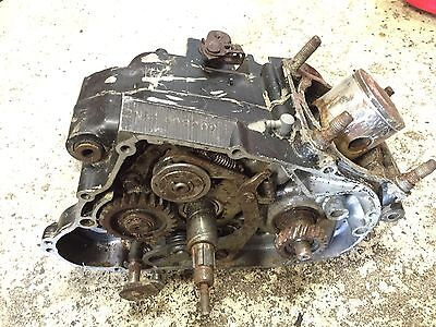 1979 79 Yz125 Yz125f Yz 125 Bottom End Engine Transmission Flywheel Case Crank