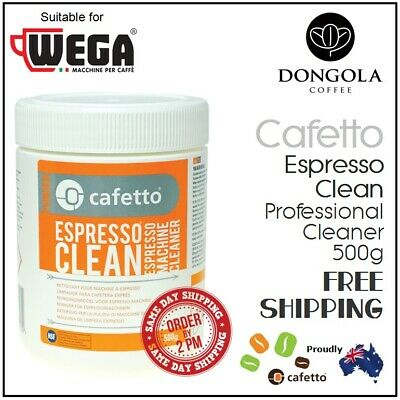 WEGA 500g Espresso Coffee Machine Cleaner Profesional Cleaning by Cafetto