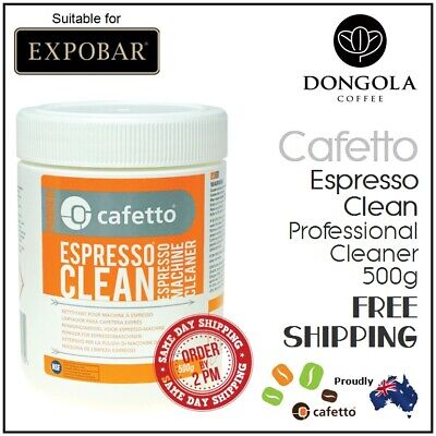 EXPOBAR 500g Espresso Coffee Machine Cleaner Profesional Cleaning by Cafetto