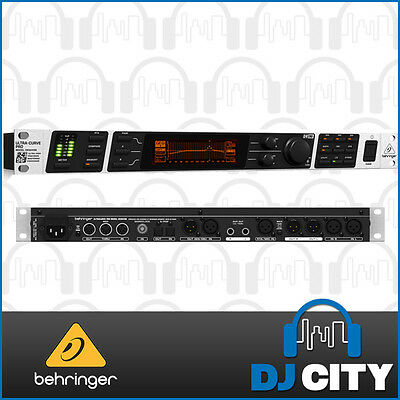 Behringer Ultracurve DEQ2496 Digital Graphic EQ & Analyser 24-bit/96 kHz