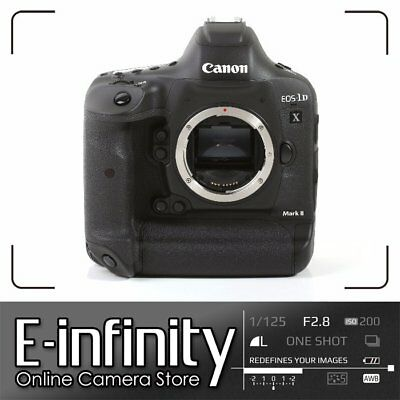 NEW Canon EOS-1D X Mark II Digital SLR Camera Body Only 1dx Mk 2