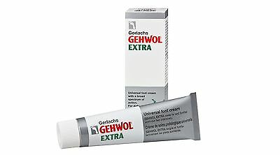 Gehwol Extra Foot Cream 75ml - The Cream That Does It All - Diabetic Suitable