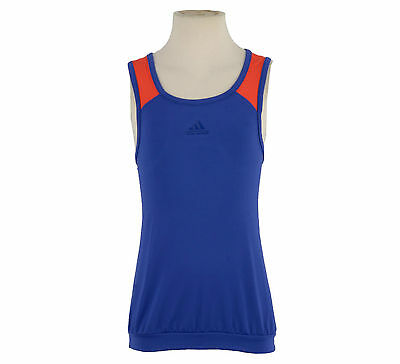 Adidas Girls Climacool Tennis Tank / Vest Top Age 13/14 Years Rrp £18 Last One