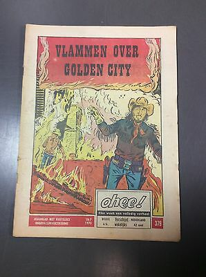 Ohee! Nr 379, 1970 - Vlammen over Golden City (Oh21)