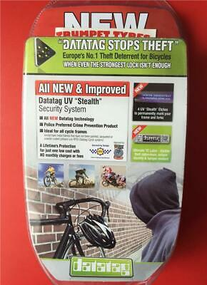 Datatag Stealth Cycle Cycling Bike Bicycle Security Anti Theft Stealth  System