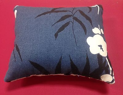 John Lewis Japanese floral pillow pin cushion sewing gift RRP £9