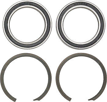 NEW Wheels Manufacturing BB30 Bearing Kit Bearings plus Clips
