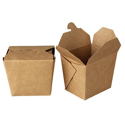 Medium Eco Friendly Bio Noodle Take Out Container 200 count box