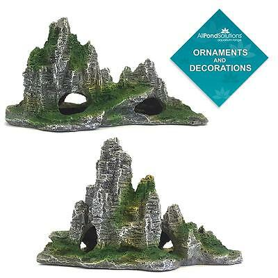 Mountain Ornament Rocks Cave Ruins - Aquarium Fish Tank - Decoration / Feature