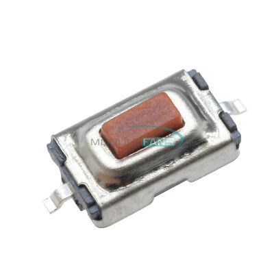 20pcs Tactile Push Button Switch Tact Switch Micro Switch 2-Pin SMD 3x6x2.5MM
