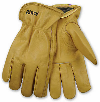 Kinco International 98RL M Men's Lined Cowhide Leather Gloves, Medium - Quantity
