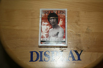 Bruce Lee Affirmations Photo Illustrated Playing Cards, NEW SEALED