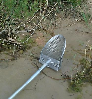 Stainless Steel Professional HEAVY DUTY sand scoop 8 inches with handle