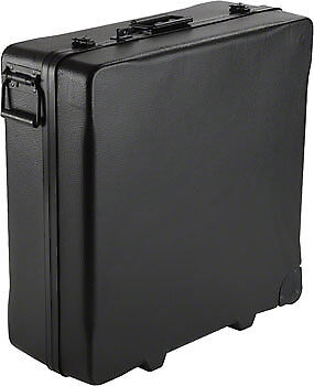 NEW S and S Butterfly Latch Travel Shipping Case Black FULL WARRANTY