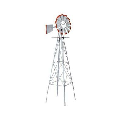 Smv Industries 48A American Windmill Lawn Ornament, 8-Ft. - Quantity 1