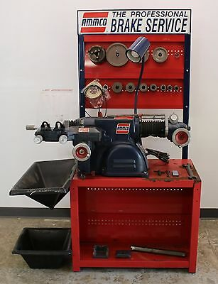 Very Nice Ammco 4000B Disc & Drum Brake Lathe Loaded w/ Tooling 8