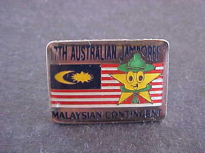 17th Aust Jamboree Malaysian Contingent Scouts Badge