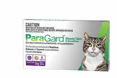 Paragard Tablets for Cats up to 5kg